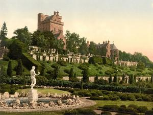 Drummond Castle from S.W. , Scotland, c.1890-c.1900