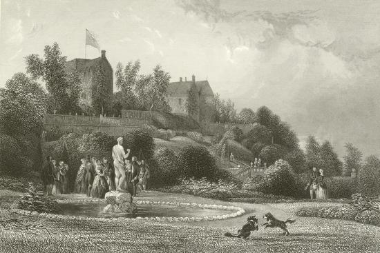 Drummond Castle--Giclee Print