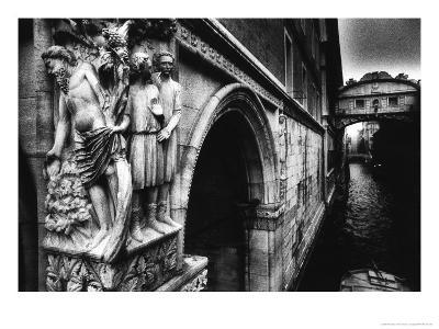 Drunkenness of Noahae on the Corner of the Dogeaes Palace Leading to the Aeponte Dei Sospiriae-Simon Marsden-Giclee Print