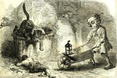 Drury Lane Theatre Grimalkin Thegreat Puss in Boots and the Miller's Son 1869 London Great Britain--Giclee Print