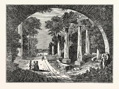 Dry Arch under the Road to Blacknest--Giclee Print