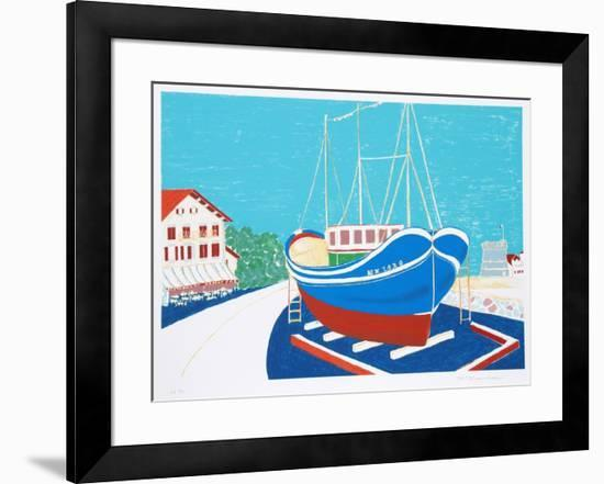 Dry Dock-Marion McClanahan-Framed Limited Edition