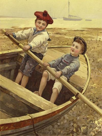 Dry-Land Sailors--Giclee Print