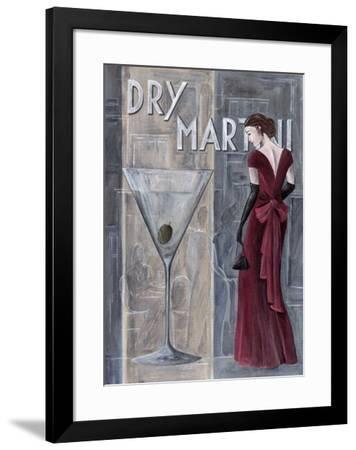 Dry Martini-M Tierry-Framed Art Print
