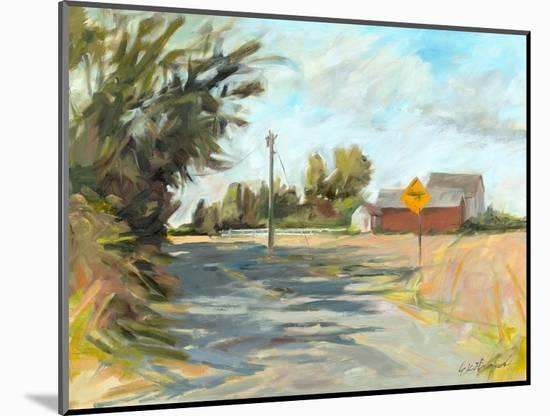 Dry Slough Road-Kris Ekstrand-Mounted Art Print