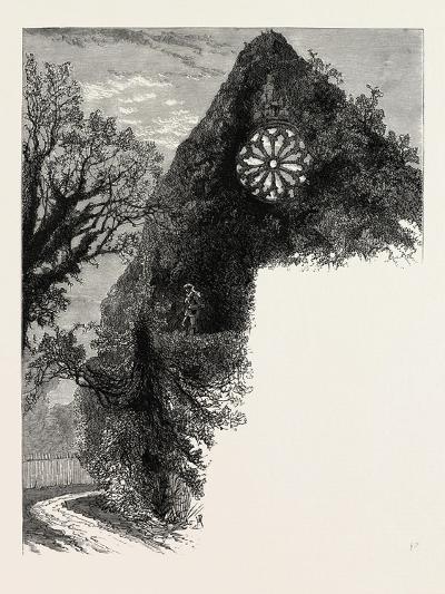 Dryburgh Abbey, UK--Giclee Print