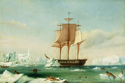 Dss 'Vincennes'-Captain Charles Wilkes-Giclee Print