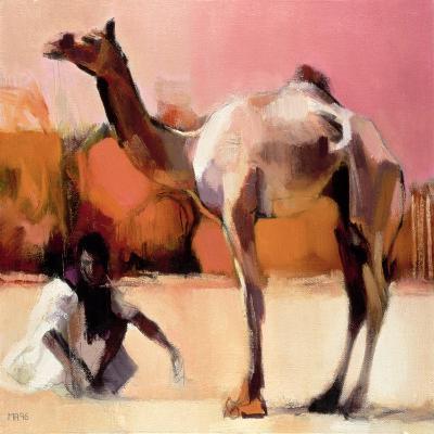 Dsu and Said, Rann of Kutch, 1996-Mark Adlington-Giclee Print