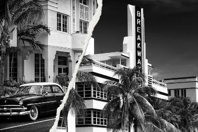Dual Torn Posters Series - Miami-Philippe Hugonnard-Photographic Print