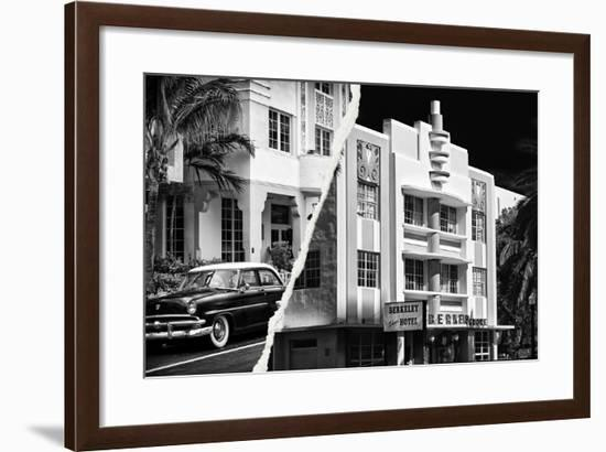 Dual Torn Posters Series - Miami-Philippe Hugonnard-Framed Photographic Print