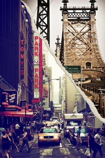Dual Torn Posters Series - New York City-Philippe Hugonnard-Wall Mural
