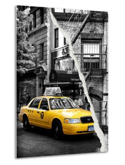 Dual Torn Posters Series - New York City-Philippe Hugonnard-Metal Print