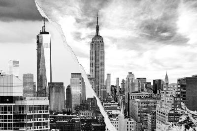 Dual Torn Posters Series - New York City-Philippe Hugonnard-Photographic Print