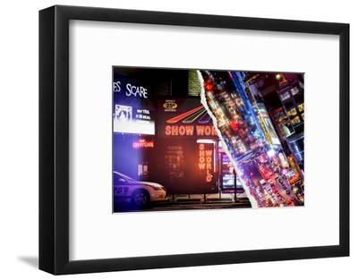 Dual Torn Posters Series - New York-Philippe Hugonnard-Framed Photographic Print