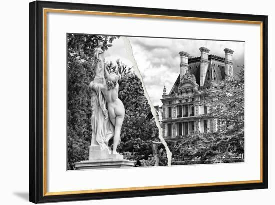 Dual Torn Posters Series - Paris - France-Philippe Hugonnard-Framed Photographic Print