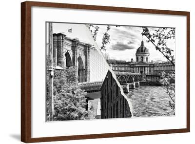 Dual Torn Posters Series - Paris - New York-Philippe Hugonnard-Framed Photographic Print