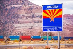Arizona State Entrance Sign by duallogic