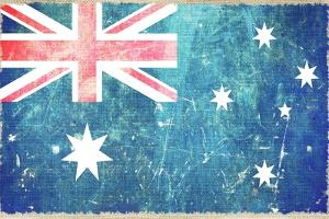Australia Flag by duallogic