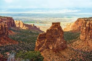 Colorado Monument Landscape by duallogic