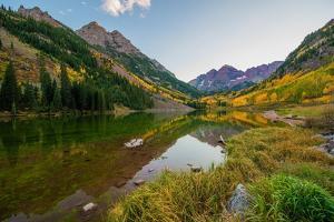 Colorado Mountains in Fall by duallogic