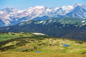 Colorado Rocky Mountains by duallogic