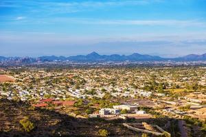 Phoenix Cityscape by duallogic
