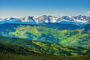 Scenic Colorado Mountains by duallogic