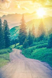 Scenic Mountain Road by duallogic