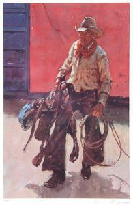 Saddle Broken by Duane Bryers