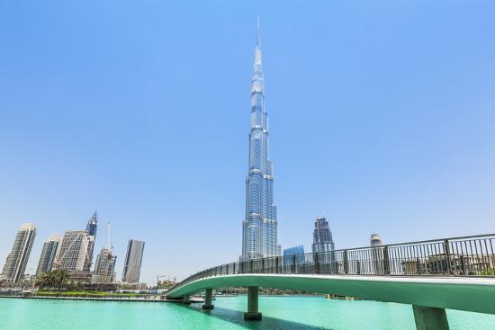 Dubai Burj Khalifa, Dubai City, United Arab Emirates, Middle East  Photographic Print by Neale Clark | Art com