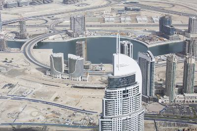 Dubai Downtown under Construction, United Arab Emirates, Middle East-Rob Boltman-Photo