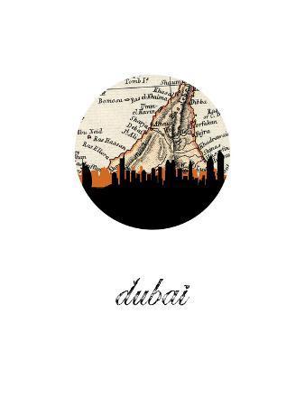 dubai-map-skyline