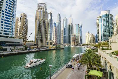 Dubai Marina, Dubai, United Arab Emirates, Middle East-Fraser Hall-Photographic Print
