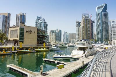 Dubai Marina, Dubai, United Arab Emirates, Middle East-Fraser Hall-Photographic Print
