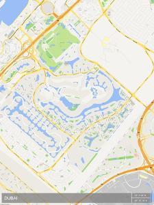 Dubai, United Arab Emirates Map