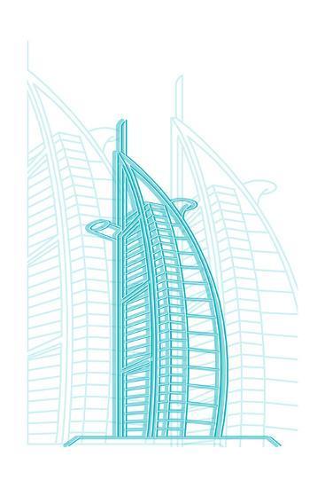 Dubai-Cristian Mielu-Art Print