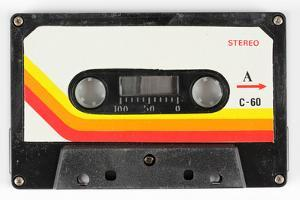 An Old Audio Cassette by dubassy