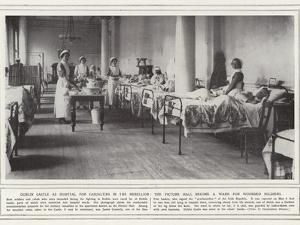 Dublin Castle as Hospital for Casualties in the Rebellion