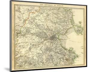 Dublin Environs, c.1837
