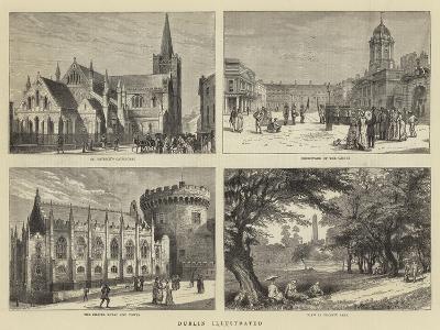 Dublin Illustrated--Giclee Print
