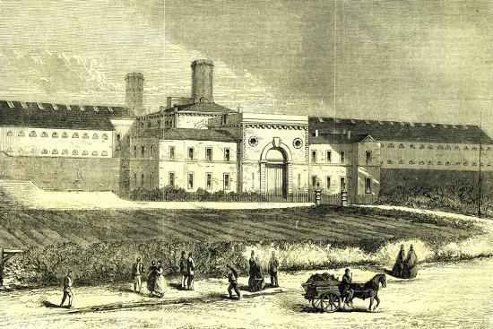Dublin Ireland 1866 Mountjoy Prison--Giclee Print