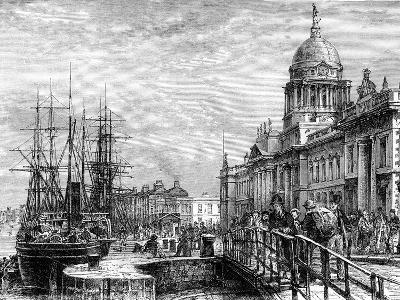 Dublin, Ireland, 19th Century-Weber-Giclee Print