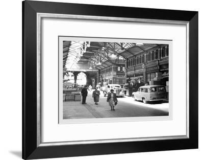 Dublin's Covered Market--Framed Art Print