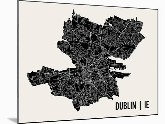 Dublin-Mr City Printing-Mounted Print