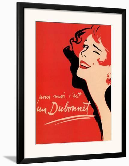 Dubonnet--Framed Art Print