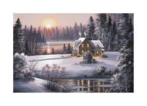 Winter Sunset by Dubravko Raos