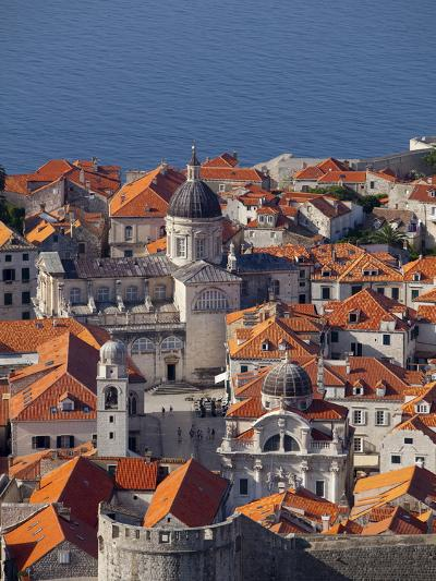 Dubrovnik, UNESCO World Heritage Site, Croatia, Europe-John Miller-Photographic Print