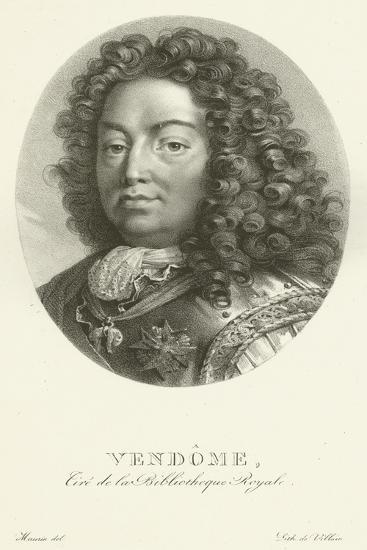 Duc De Vendome--Giclee Print