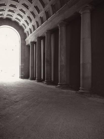 Ducal Palace. Passage for Carriages-Tommaso Minardi-Photographic Print