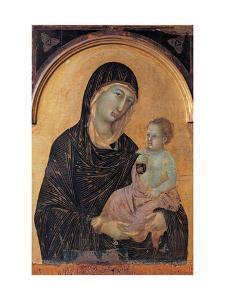 Altar frontal No. 28: Madonna and Child by Duccio Di buoninsegna